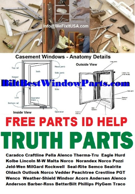 Fenestra Casement Window Parts 9 Quot And 13 Quot Arm Casement