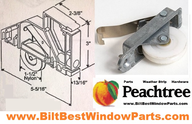 Peachtree Screen Door Rollers Patio Door Repair Parts