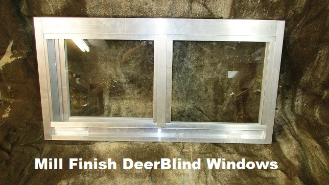 Insulated glass lowe deer hunting blind windows slider for Best insulated glass windows
