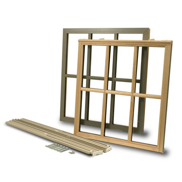 Double Hung Wood Window Sash Kits Biltbest Hail Damage