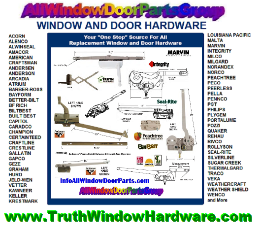 Door And Window Replacement Hardware Repair Parts Kansas
