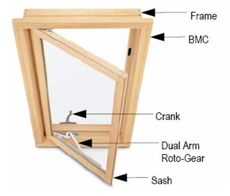 Wood And Clad Casemaster Window Components Move To