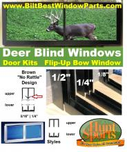 The Best in Window Plans, Hinged Deer Blind Windows, Deer Blind Windows Best Ideas, Deer Blind Windows