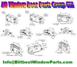 Patio Door Rollers Wheels And Assembly Parts Biltbest